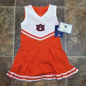 Baby Girl Auburn Cheerleader outfit